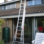 Driedelige lichtgewicht ladder